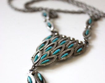 Boho vintage 1970s necklace.