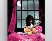 "A3 Colour Poster - ""Moonlight"""