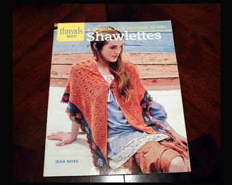 Threads Selects Shawlettes - Crafting Book, Knitting Book