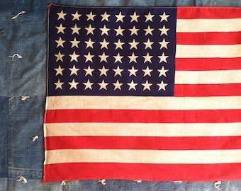 Vintage 48 Star United States Flag