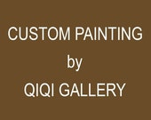 "Custom painting for Maria ""Beautiful Autumn"" by QIQIGallery"
