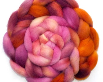 BFL Roving Blue Face Leicester Combed Top Wool, Lei, 5.1 oz.