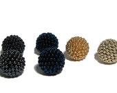 Reserved Listing beaded beads handmade 14mm beads