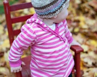 FLASH SALE Baby hat, handknit  3 - 6 months