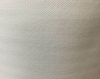 "60"" Wide White Domestic Coutil Herringbone Classic Corset Fabric BTY"