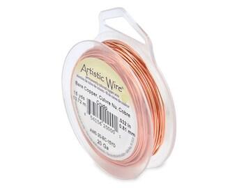 Artistic Wire 20 Gauge Bare Copper Wire 41091