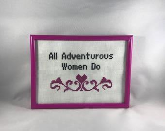 All Adventurous Women Do