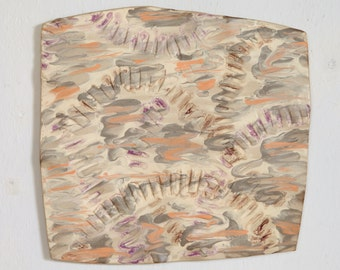 Tile Wall Art 'The Tempest' Ceramic Wall Sculpture
