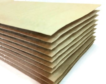 Bubble Mailer 25 pack - brown, size 0 or approx 6x10 - small, padded envelopes, shipping, mailing, shop supplies, self sealing, kraft paper