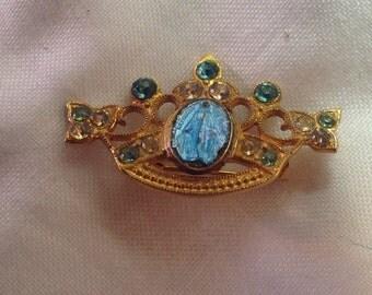 Sweet vintage catholic pin