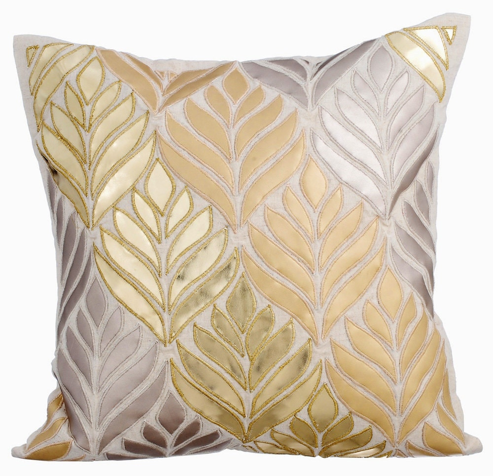Decorative Linen Pillows : Natural Linen Decorative Throw Pillow Covers Pillow Couch