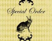 SPECIAL ORDER for Domonique