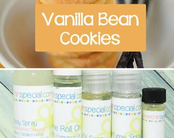 Vanilla Bean Cookies Perfume, Perfume Spray, Body Spray, Perfume Roll On, Perfume Oil, Dry Oil Spray, Vanilla Scent, You Choose the Product