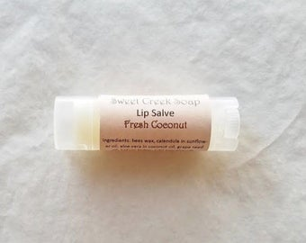 Fresh Coconut Herbal Lip Balm