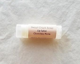 Chocolate Mints Lip Balm