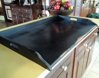 Extra Large  Wood  Stove Top Cover - extra long