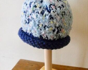 Newborn  Hat, Baby Photo Prop Hat, Baby Girl Hat, Newborn Boy Knit Hat, Newborn  Beanie,Knit Baby Hat Hand Knit