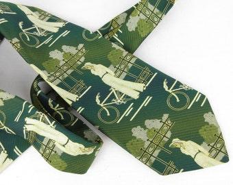 Vintage Mens Necktie, Great Gatsby Inspired