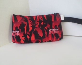 The Walking Dead - Clutch - Wristlet - Zippered purse - Walking Dead - Zombies