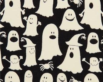 185902 black glow in the dark ghost fabric glow ghosts