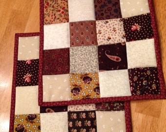 Kitchen Patchwork Potholders