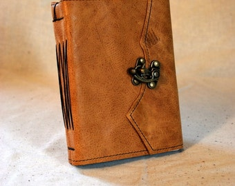 SUMMER SALE:  Medium Latch Journal with Recycled Paper