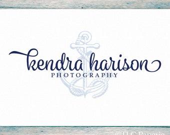 Nautical Logo Design, Custom Logo,  Soap Logo, Business Logo, Anchor Logo, Water Logo, Photography Logo
