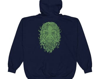 Greenman Unisex Hoodie - size Small to 2XL