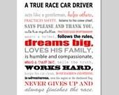 Race Car Nursery Decor Race Car Nursery Art Race Car Pit Crew Nursery Decor Transportation Nursery Art Race Car Quote - CHOOSE YOUR COLORS