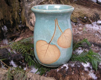Poplar Leaf Mug 16 oz. , tea mug, coffee mug, favorite mug, nature, environment
