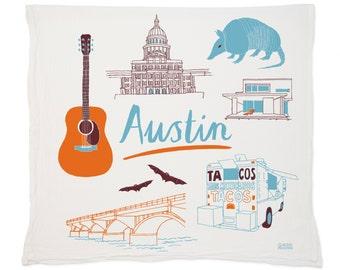 Austin Tea Towel