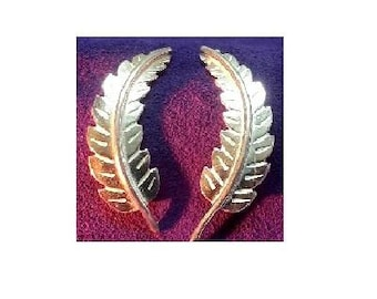 46mm long ~ Sterling Silver Cast Leaves for Soldering projects ~ To Be ORDERED for you ~ L7 ~ FDK