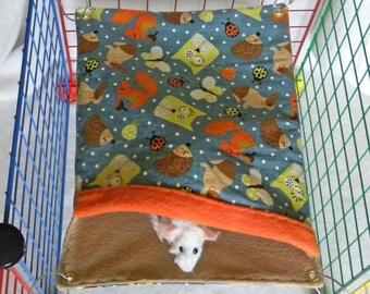 RAT SAC Sleeping Bag med - Woodland Critters