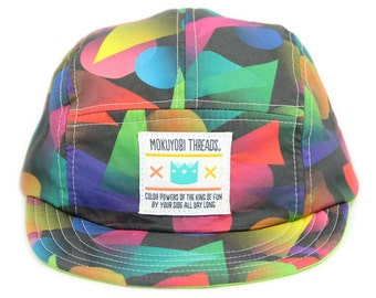 Fading Shapes 5 Panel Walter Hat