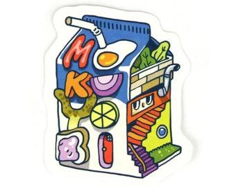 Milk House Sticker