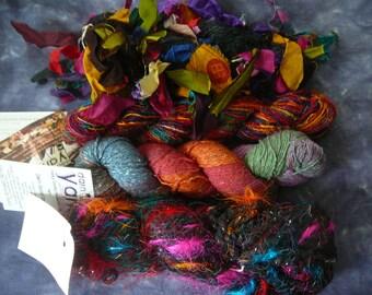 DARN GOOD YARN Assortment of Yarns - Silks, Banana Silk, Chunky, etc - Your Choice!