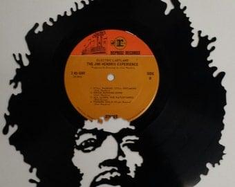 JIMI HENDRIX vinyl art