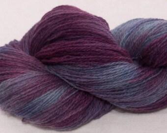 Hand dyed yarn, Scottish Shetland,  hand painted yarn,  100% pure Shetland wool, Indie dyed yarn, colour; Desire