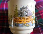 2Day Sale German Christmas Market Holiday Coffee Mug, Frankfurter Weihnachtsmarkt