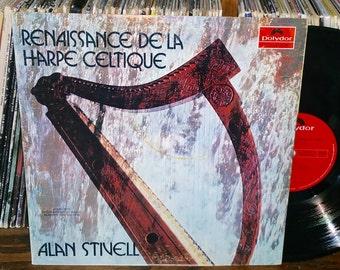 Alan Stivell Renaissance De La Harpe Celtique Vintage Vinyl Record