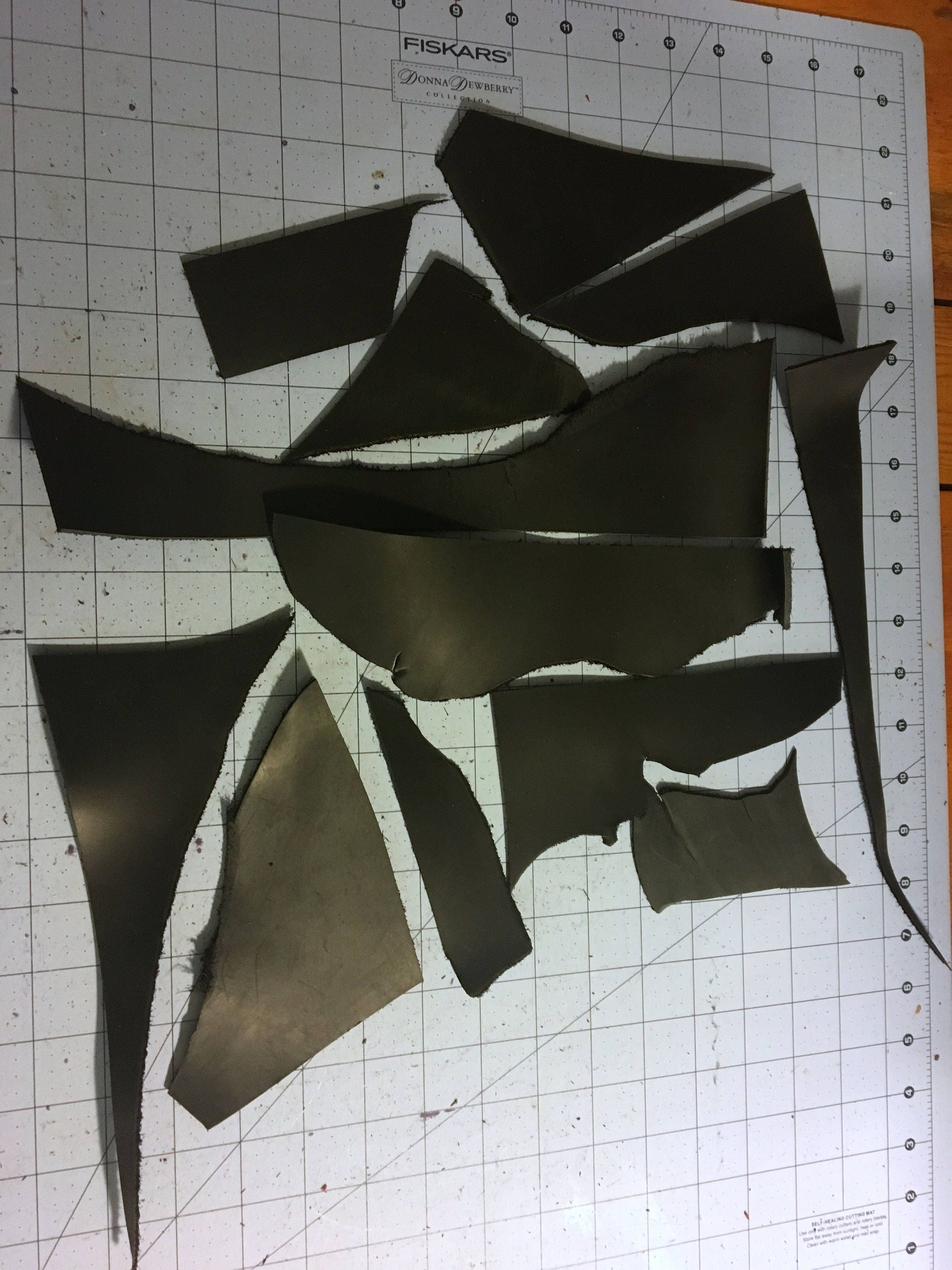 Leather scraps for crafts - Sold By Myfunkycamelot