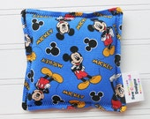 Mickey Mouse Microwavable Heating Pad and Ice Packs, Keepin' Cozy Willy Pad; Warm Compress and Cold Compress, Multiple Sizes
