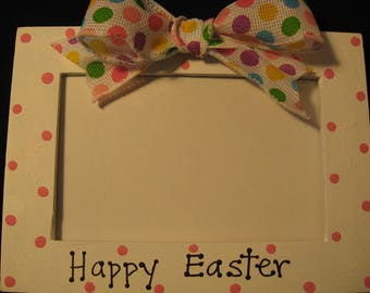 Happy Easter frame My first Easter personalized custom Easter picture photo frame