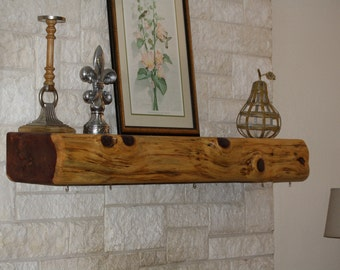 Custom Made Cedar Fireplace Mantel, Handcrafted to order, cedar mantel, Texas cedar mantel, DEPOSIT ONLY, made to size + specifications