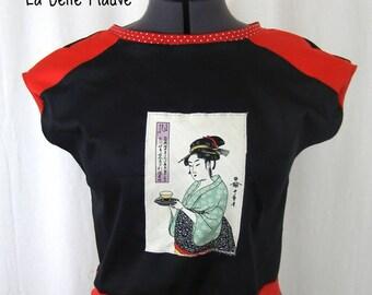 T-shirt Yuki Japanese print