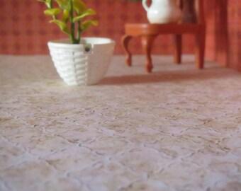 1/12 Scale Downloadable Printable Dollhouse Rhombus Tiles Flooring