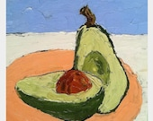 Lynne French Avocado Oil Painting RESERVED for Suzy 12x12