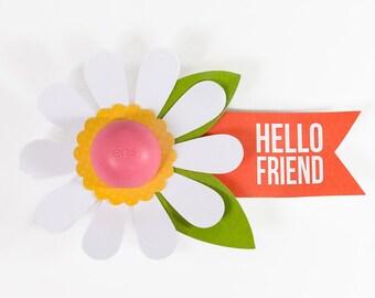 EOS Lip Balm: Hello Friend Flower