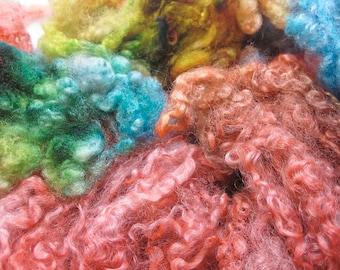 Lovebird - Hand Dyed Wensleydale Columbia Locks