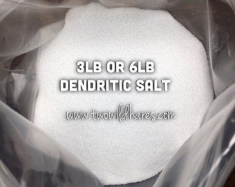 DENDRITIC Salt, Fine Grain, Anchors Scent, Keeps Salts from Clumping
